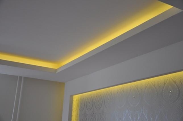Закарнизная подсветка светодиодными лентами
