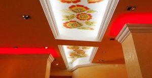Скрытое светодиодное освещение потолка
