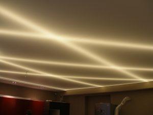 Светодиодные ленты за натяжным потолком